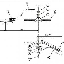 가공지선 현수장치(4B, 12Ton)